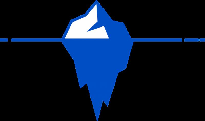 iceberg-différences interculturelles dans le business à l'international